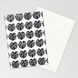 Monstera leaf Stationery Cards