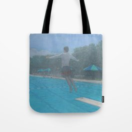 Big Blue_painting Tote Bag