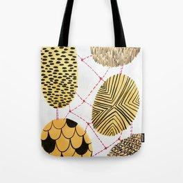 Honey Orbs Tote Bag