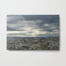 High Desert Sky Metal Print