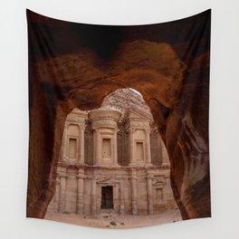The Treasury at Petra Jordan Wall Tapestry