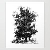 Trunk Art Print