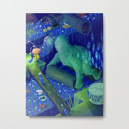 The Waterwraith Metal Print