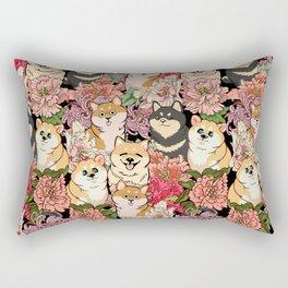 Because Shiba Inu Rectangular Pillow
