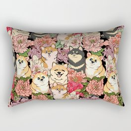 Because Shiba Inu Rectangular Pillow