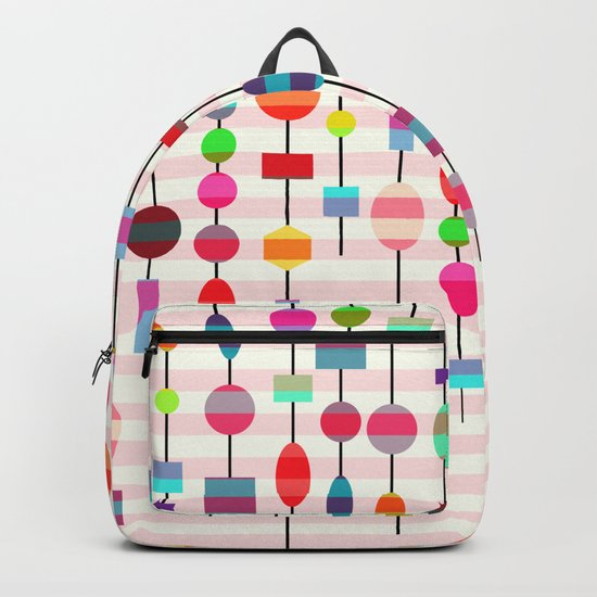 Colorful pearls Backpack