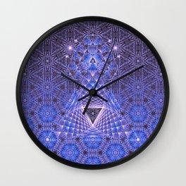 Lifeforms | Acid abstract Wall Clock