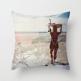 avellanas Throw Pillow