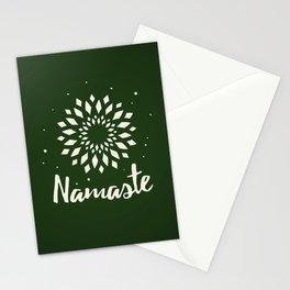 Namaste Mandala Flower Power Stationery Cards