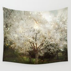 The Ghosts in the Trees Wall Tapestry