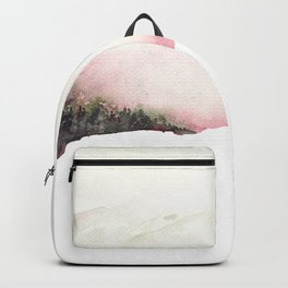 Fading mountains Backpack