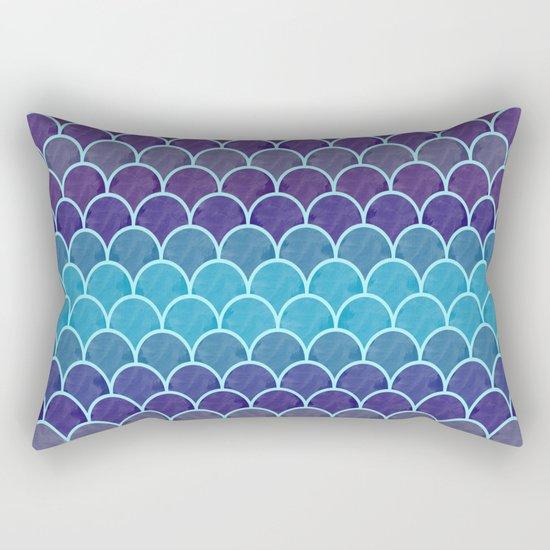Watercolor Lovely Pattern VVIII Rectangular Pillow