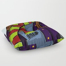 The Scarf Floor Pillow