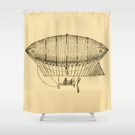 Airship Shower Curtain
