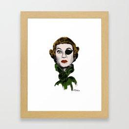 Bette Davis Anniversary Framed Art Print