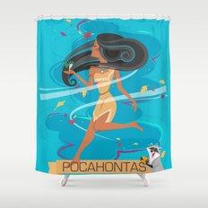Pocahontas Shower Curtain