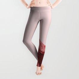 Shy red girl Leggings