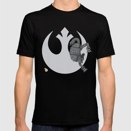 Droid Eek! (grey) T-shirt