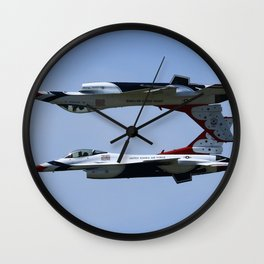 Inverted Wall Clock