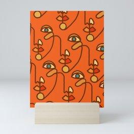 Multi Faced Sienna Mini Art Print
