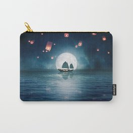Travel through the Lights Carry-All Pouch