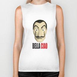 Dalí Mask La Casa de Papel Bella Ciao Biker Tank