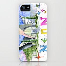 Neon Boneyard Las Vegas iPhone Case