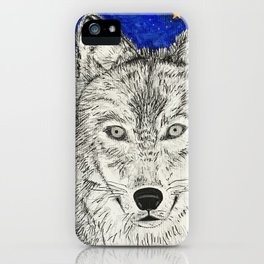 Wolf of the Throne iPhone Case