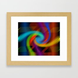 Color magic Framed Art Print