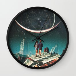 It will be a whole New World Wall Clock