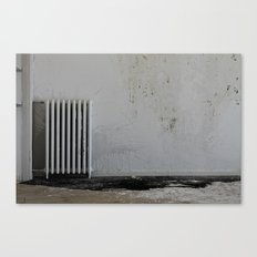 LOST PLACES - pissing radiator Canvas Print