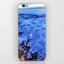 Flight over Mountians iPhone Skin