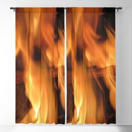 Fireplace Blackout Curtain