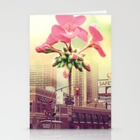 architect Stationery Cards featuring Floral Architect by Rachael Jane