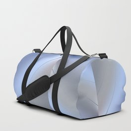 Fractal ice crystals at freezing point Duffle Bag