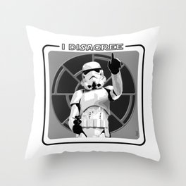 Disagreement Throw Pillow