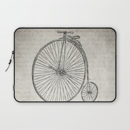 Melancholy Is Incompatible With Bicycling Laptop Sleeve
