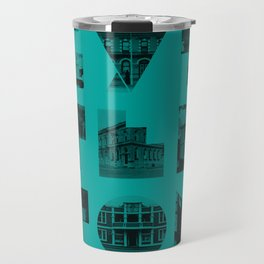 Missing buildings of Lyttelton Travel Mug