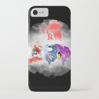 neon genesis evangelion iPhone & iPod Cases featuring Evangelion by icantusechanwei