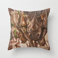 The Charge Part 2 Throw Pillow