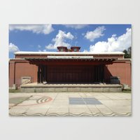 outdoor Canvas Prints featuring Outdoor Stage by Inspirascapes