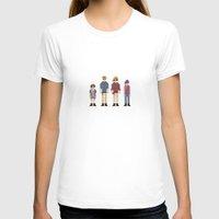 jurassic park T-shirts featuring 8-bit Jurassic Park by MrHellstorm