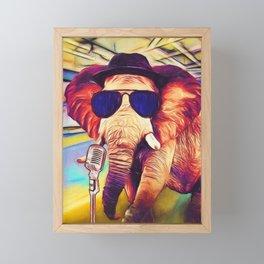 Trunk it Up Framed Mini Art Print