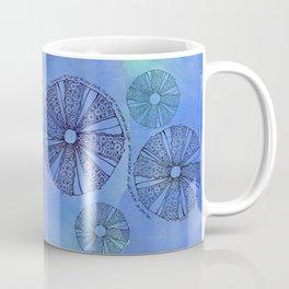 Blue Sea Urchin Coffee Mug