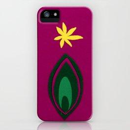 de Flower [fuchsia] iPhone Case