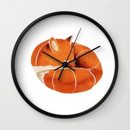 Fox 3 Wall Clock