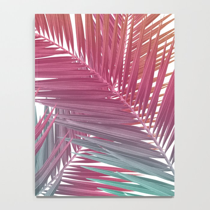 Gradient Palm Leaves Notebook