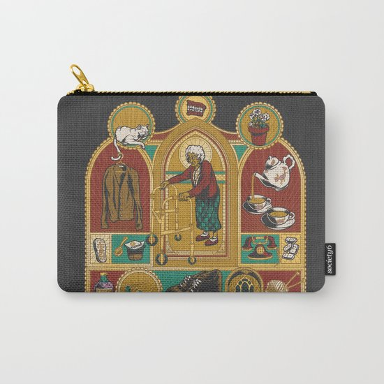 Ye Oldé Grandma Triptych Carry-All Pouch