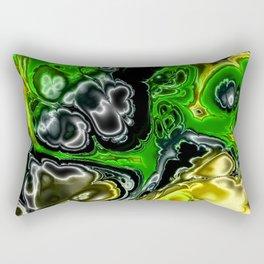 Electric Fractal 4B Rectangular Pillow