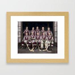 Vancouver Millionaires, 1913 - 1914 season  Framed Art Print